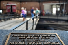 The Martinsburg Roundhouse in Martinsburg, W.Va., has been designated a National Historic Landmark. (Photo by Jennifer F. Shephard)
